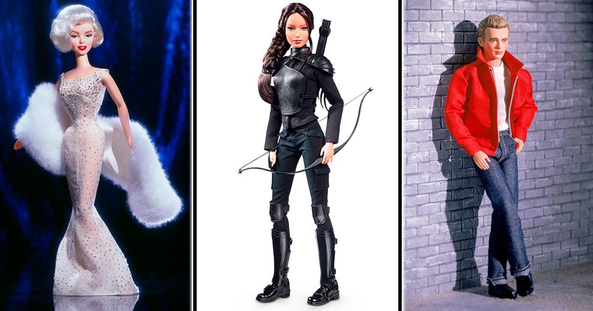Barbie y Ken se convierten en las celebridades más importantes. ¡Mira cómo luce JK Rowling!