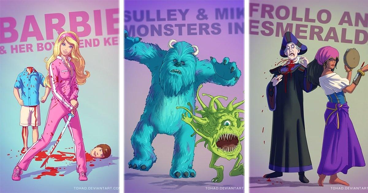 18 Dibujos animados corregidos, aumentados y más rudos que nunca. ¡Los Rugrats se ven de terror!