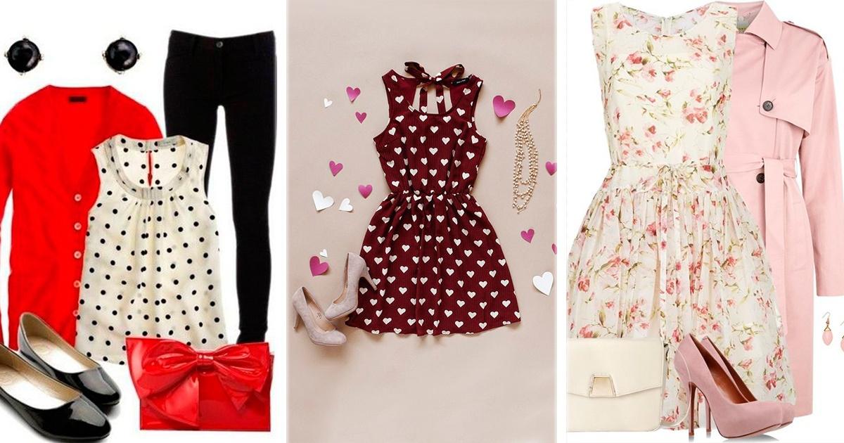 ¡12 ideas de outfits para tu cita de San Valentín! El #8 está precioso.