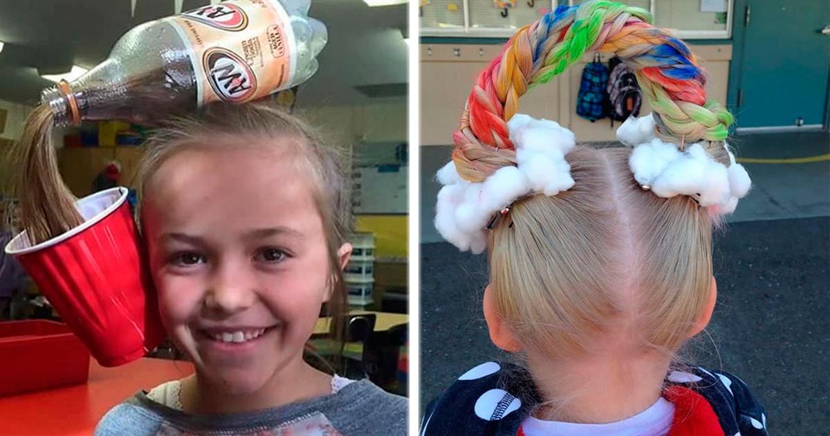 Los 13 peinados para niños mas geniales, ¡Querrás intentar el #7 con tus hijos!