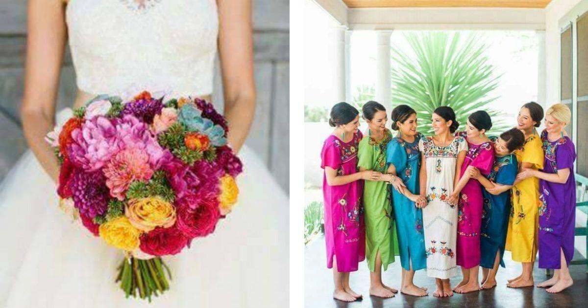 Una hermosa boda a la mexicana. ¡¡¡Quiero una así!!!