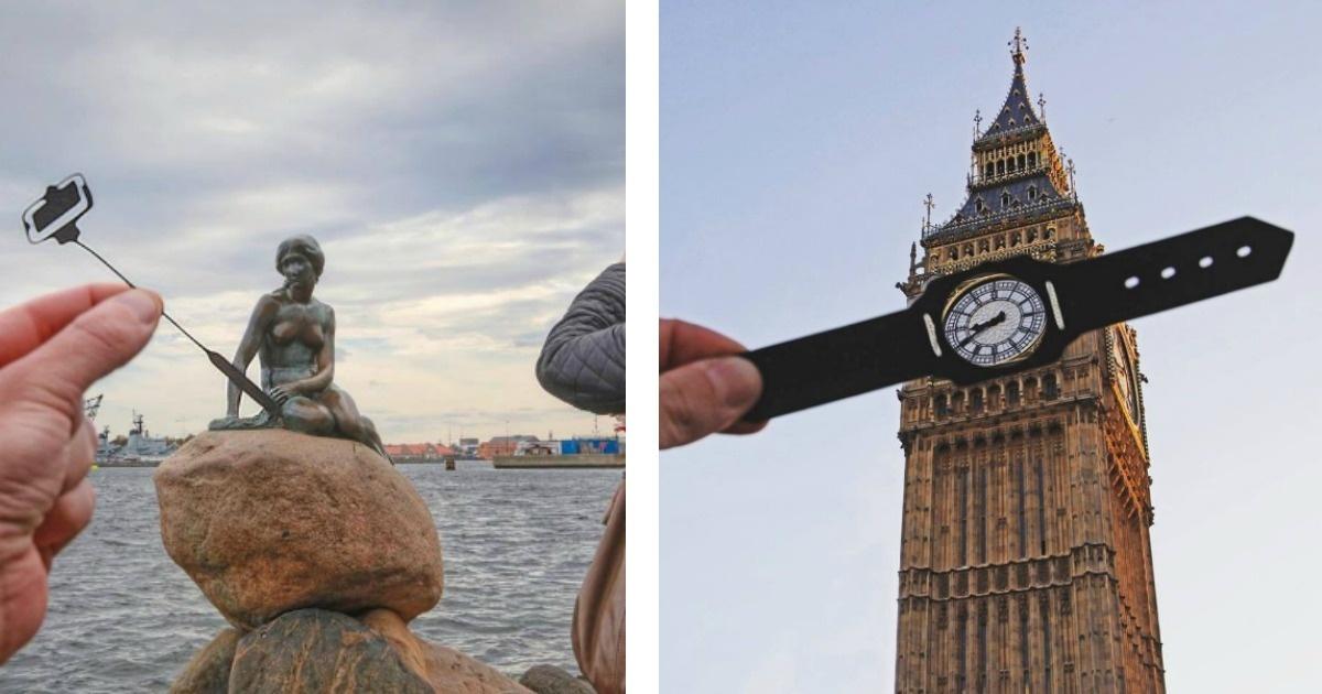 Fotos bastante creativas por las más grandes arquitecturas mundiales