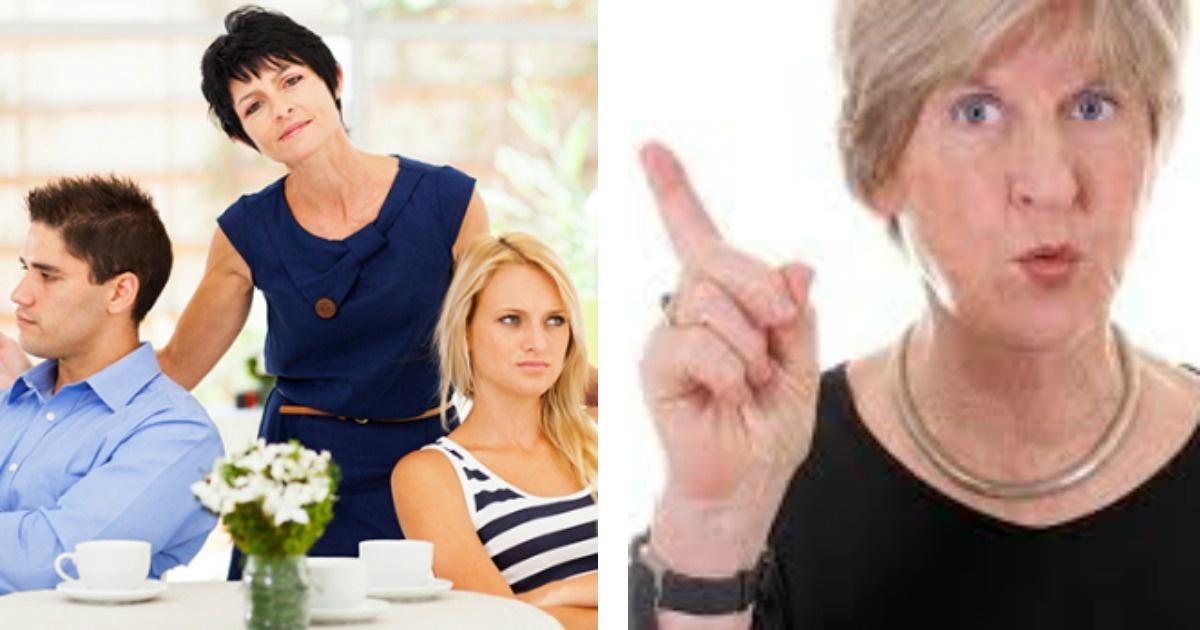 8 tipos de suegras que todos queremos evitar
