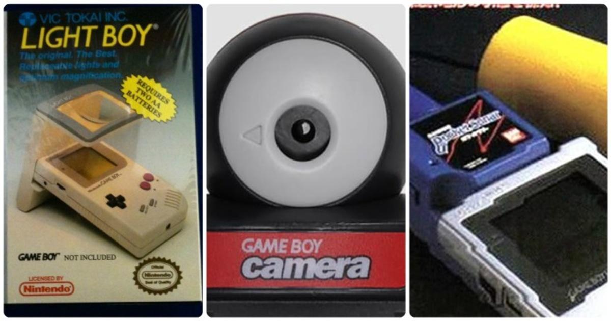 """11 accesorios del """"GameBoy"""" que seguro habías olvidado que existían."""
