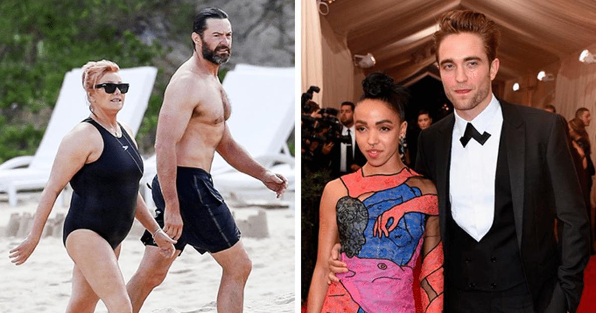 """10 famosos con esposas """"no tan guapas"""", ellos eligieron con el corazón"""