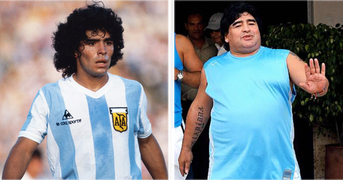 8 futbolistas que ahora están obesos. ¡Hay que cuidarse!