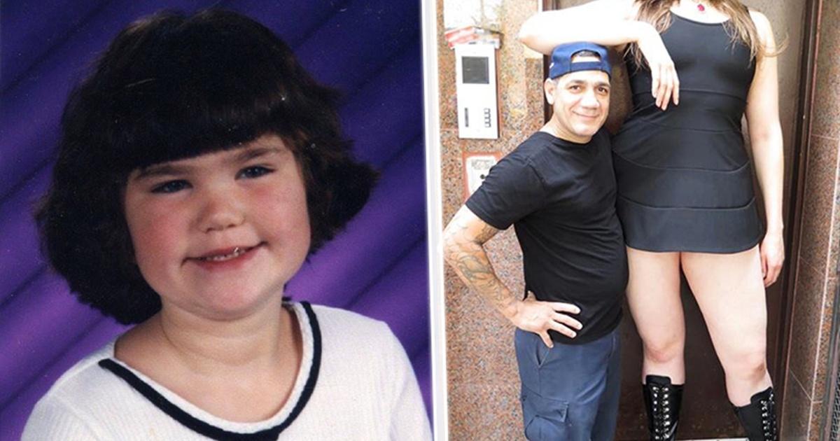 Cuando tenía 12 años medía 1.90 y se burlaban de ella, ¡Mira cómo luce ahora!