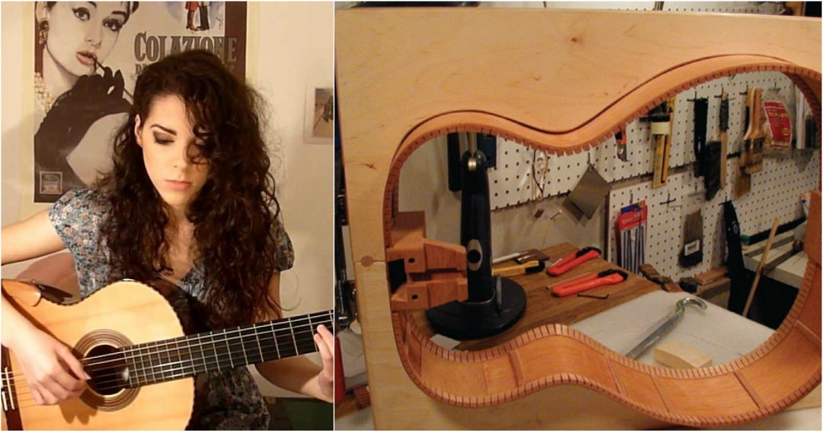 ¿Sabes cómo se hacen las guitarras acústicas? Aquí te revelamos el secreto.