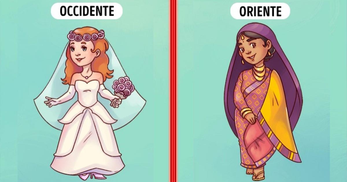 8 Diferencias muy visibles entre las mujeres de Oriente y Occidente