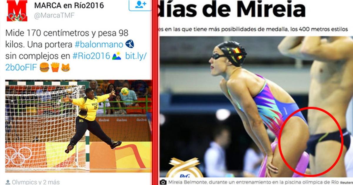 Los titulares más machistas de los Juegos Olímpicos en Rio 2016