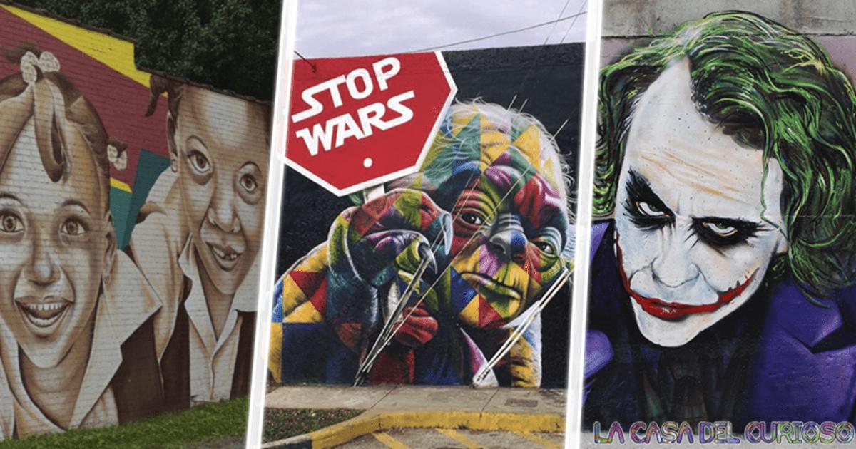 Arte callejero que nos demuestra lo increíble que puede llegar a ser