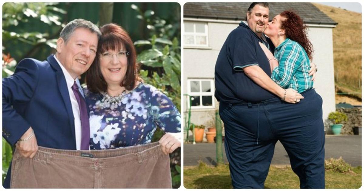 15 increíbles historias de parejas perdiendo peso juntas. ¡Los cambios te impactarán!