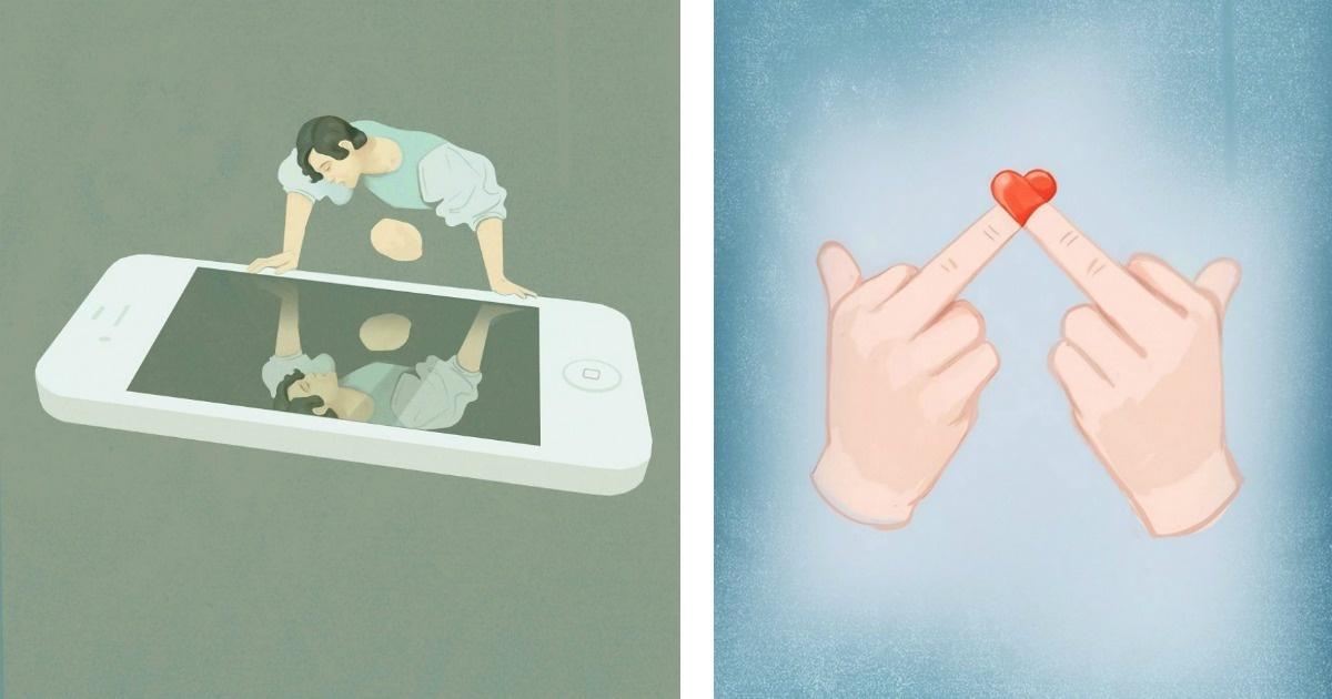 10 Ilustraciones para reflexionar sobre nuestras vidas