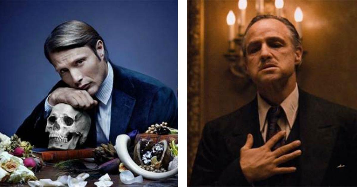 Los villanos más elegantes del Cine y la T.V.
