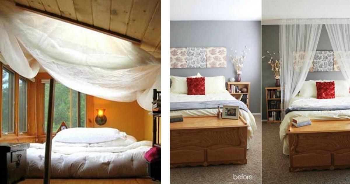 12 Diseños para que las cortinas de tu recámara la conviertan en un lugar mágico