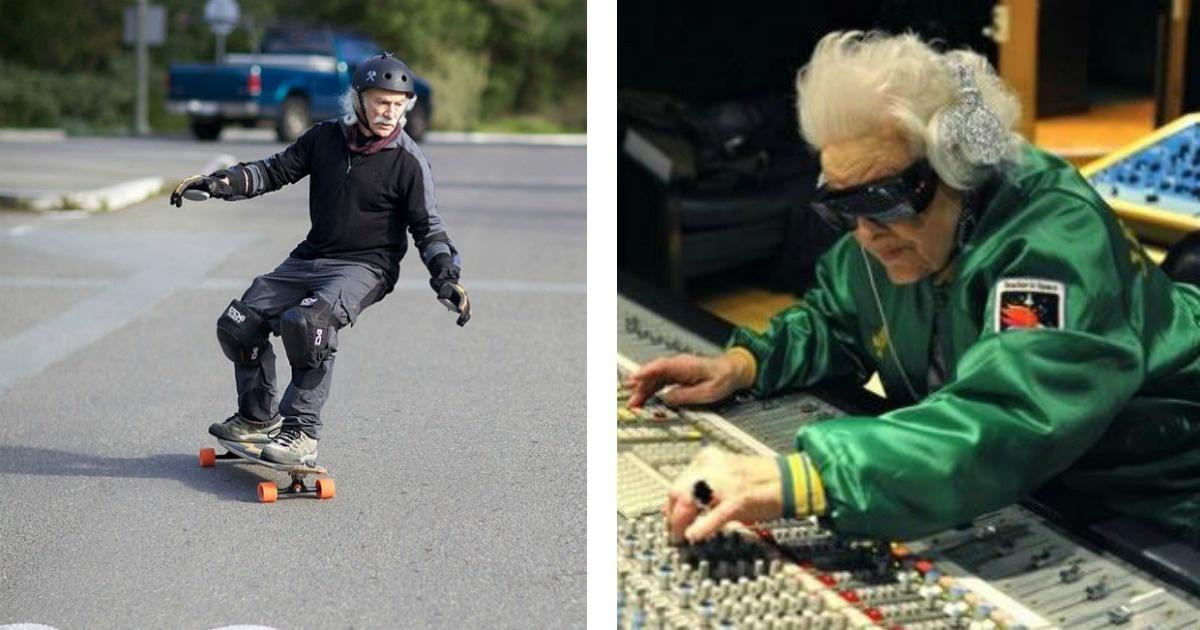 9 Ancianos que a pesar de la edad alcanzaron sus sueños