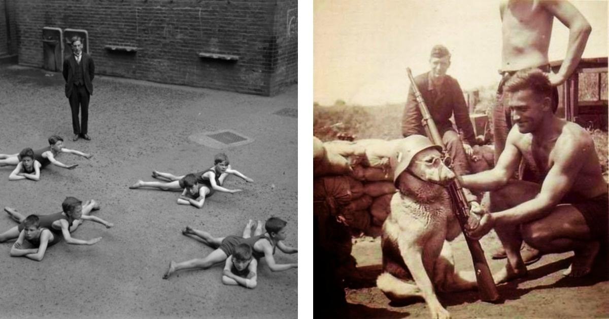 10 Fotos que enseñan lo raras que eran las personas en el pasado