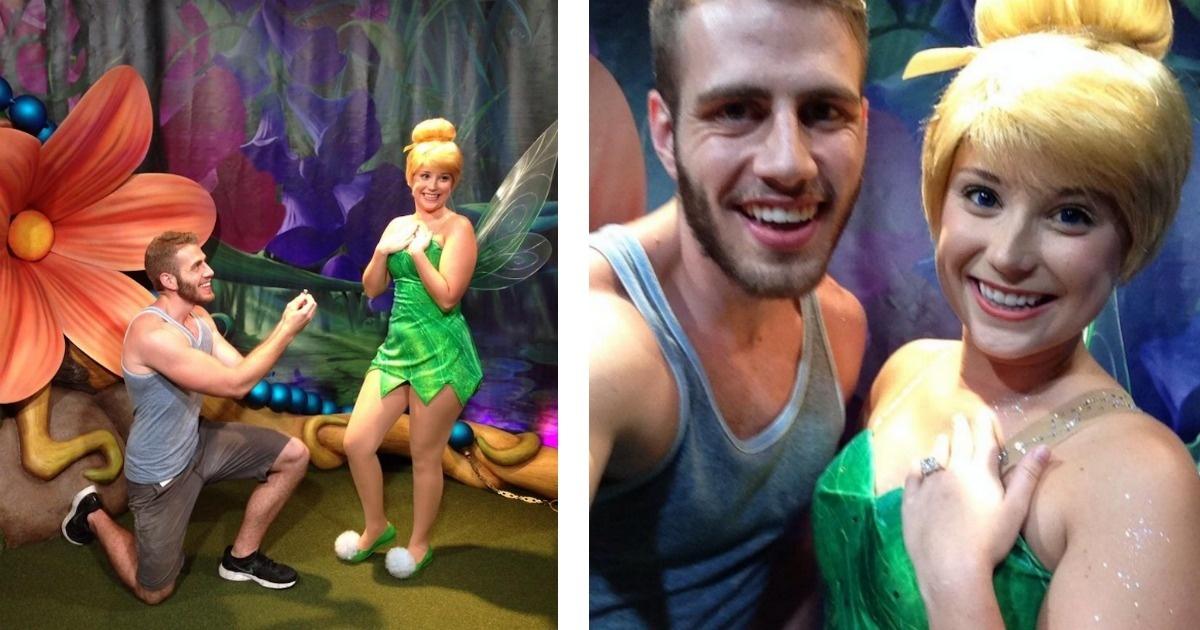 Un alocado chico pidió matrimonio a las princesas de Disney. ¿Lo conocías? (sorpresa al final)
