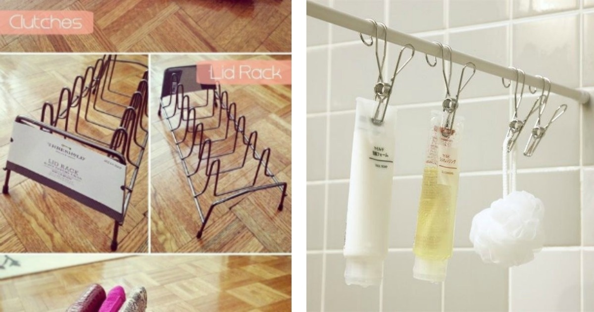 10 Trucos para acomodar objetos en tu hogar que ahorrarán espacio