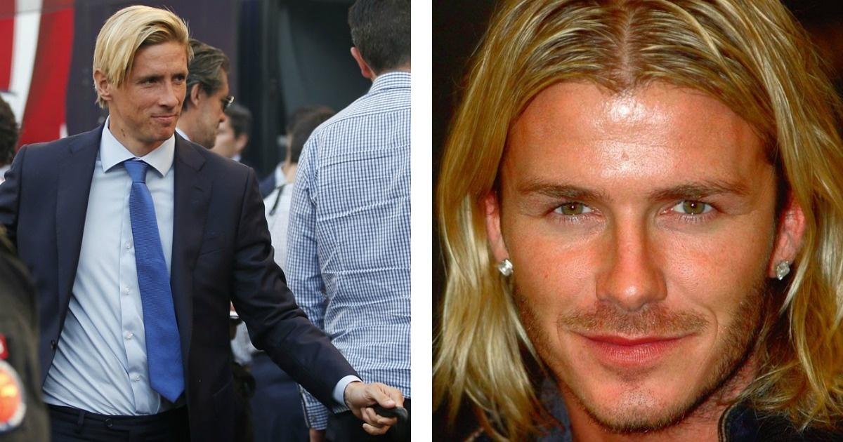 Futbolistas que también incursionaron en el look rubio como Messi