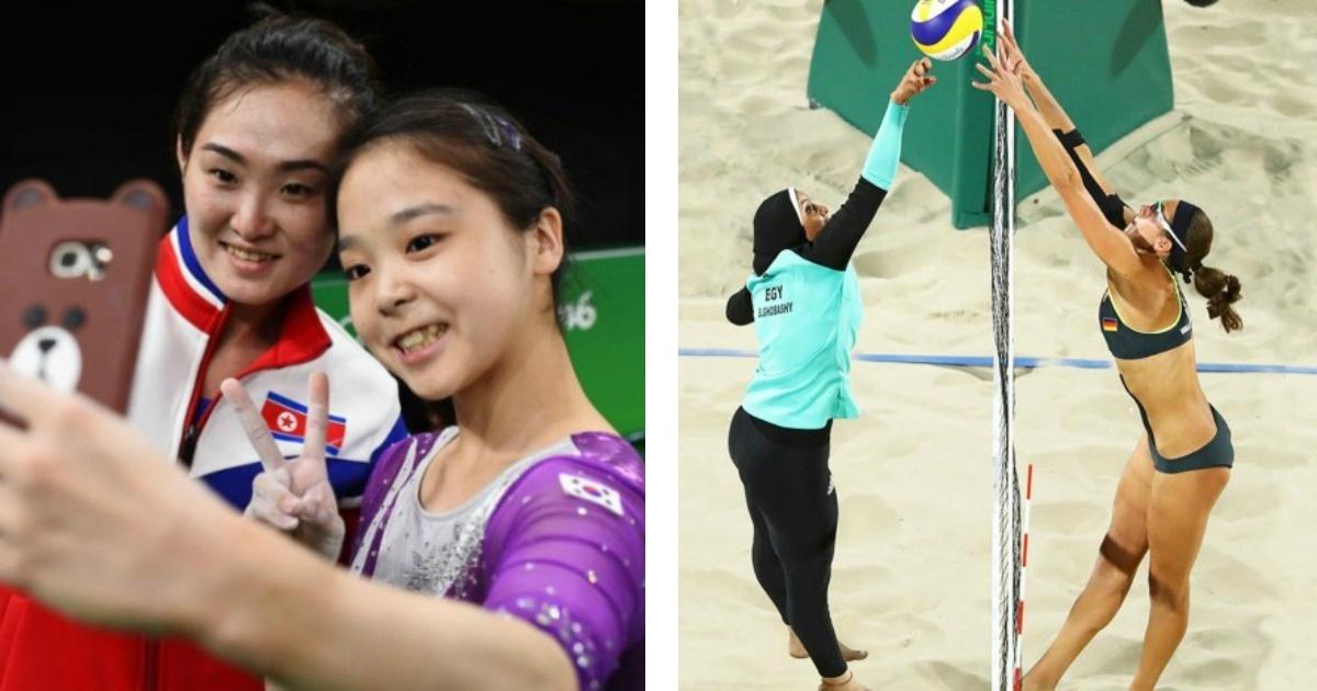 8 Fotos impactantes de las Olimpiadas de Río 2016