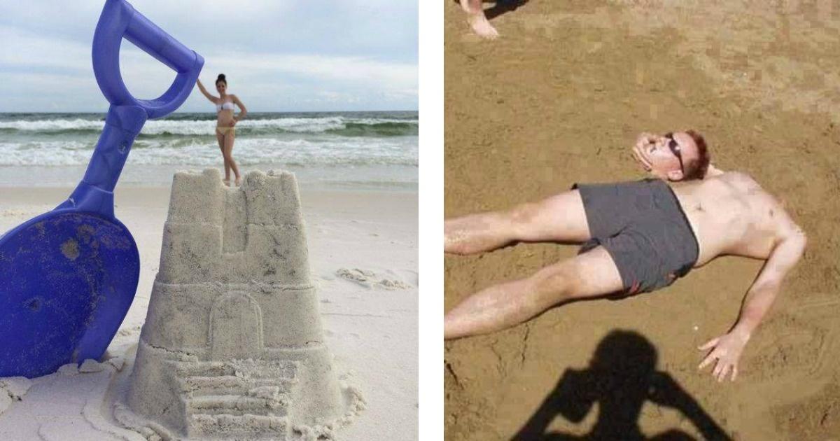 15 excelentes ideas para tomar geniales fotos en la playa