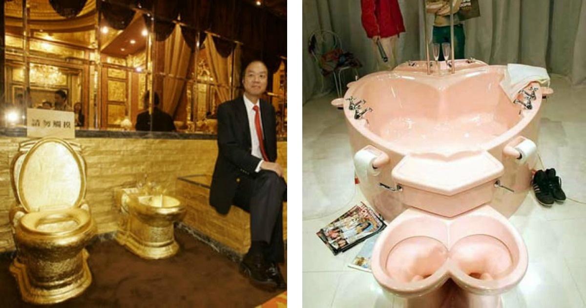 ¡Nunca te habías imaginado hacer tus necesidades en alguno de estos 11 baños!