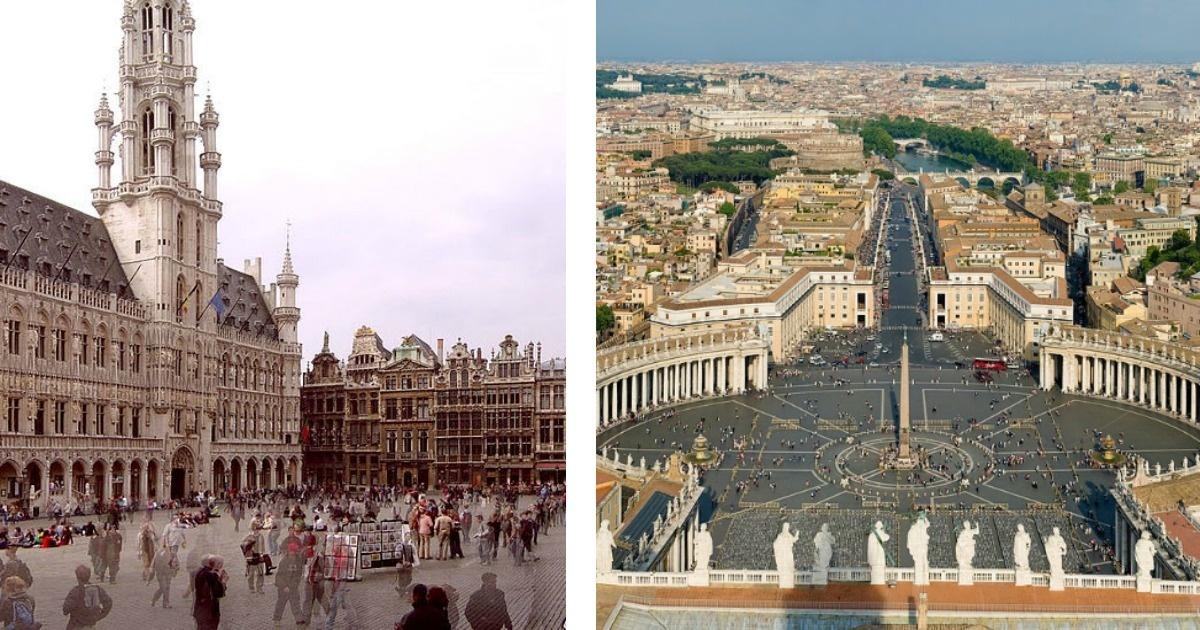 Las 15 mejores plazas del mundo que algún día quisiera conocer