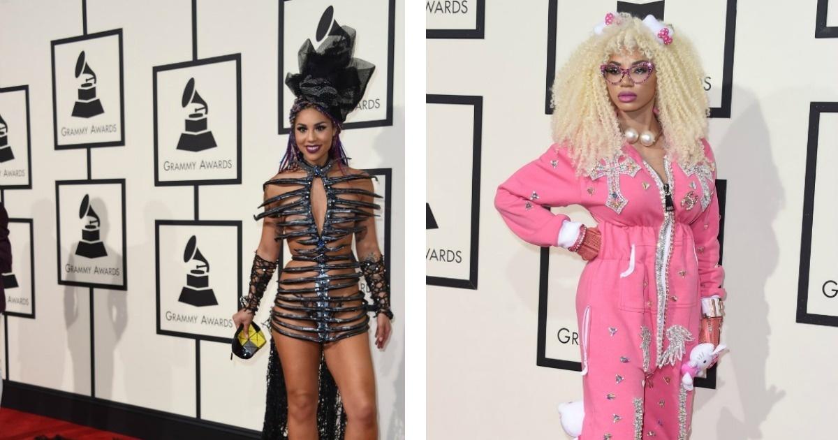 Los más raros y absurdos vestidos de los Grammys 2016