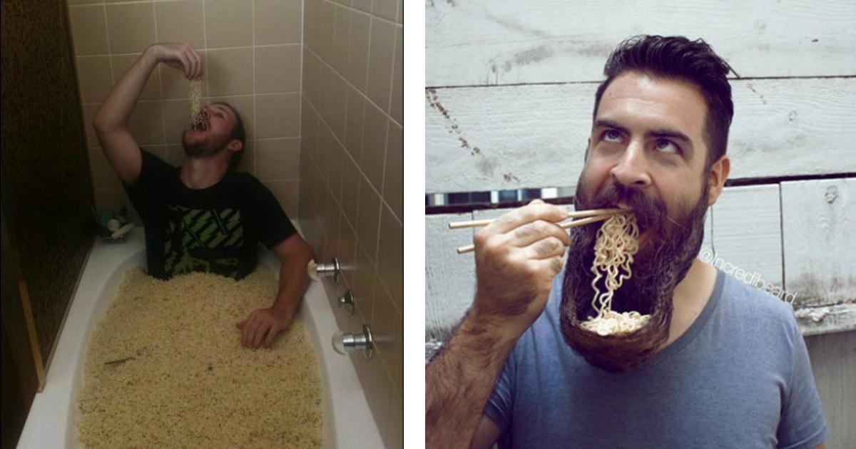 11 Divertidas fotos para los amantes de las sopas instantáneas