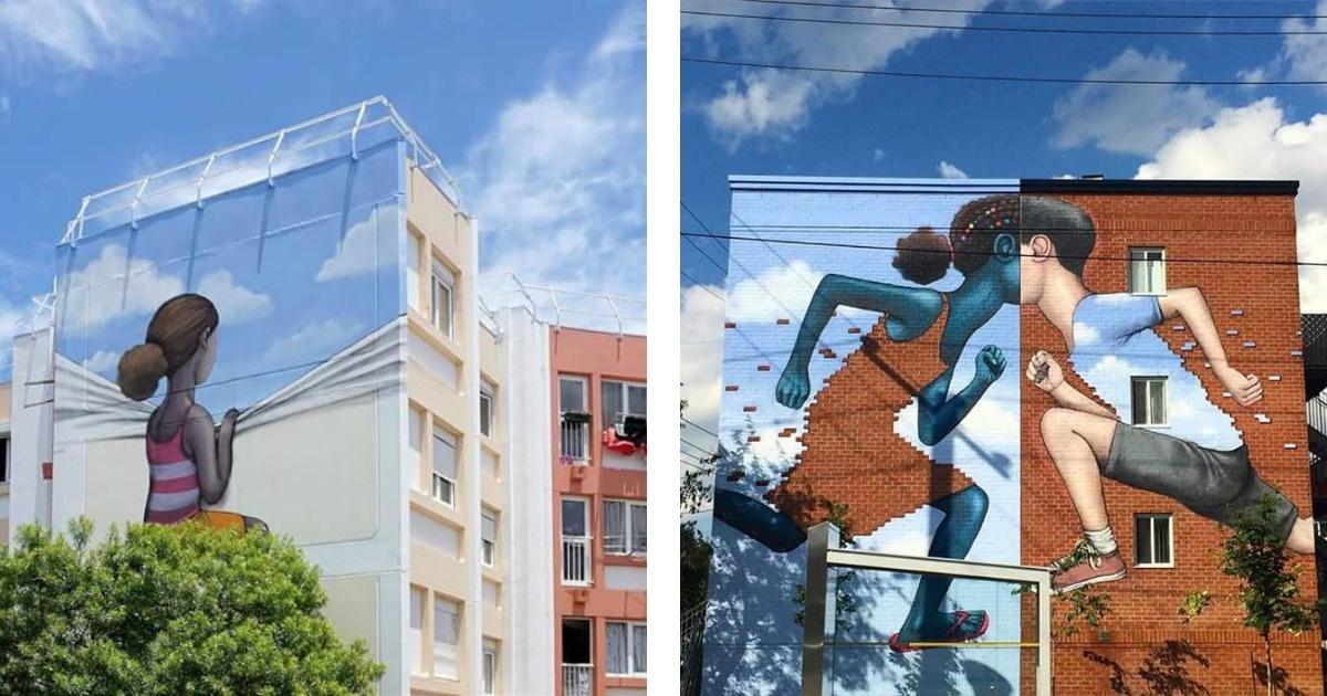 15 increíbles muestras de Arte urbano