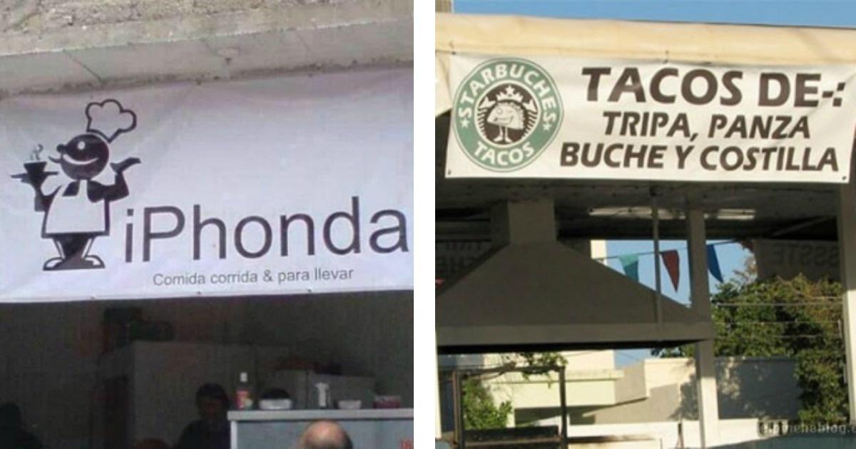 Los nombres más divertidos de pequeños puestos comerciales