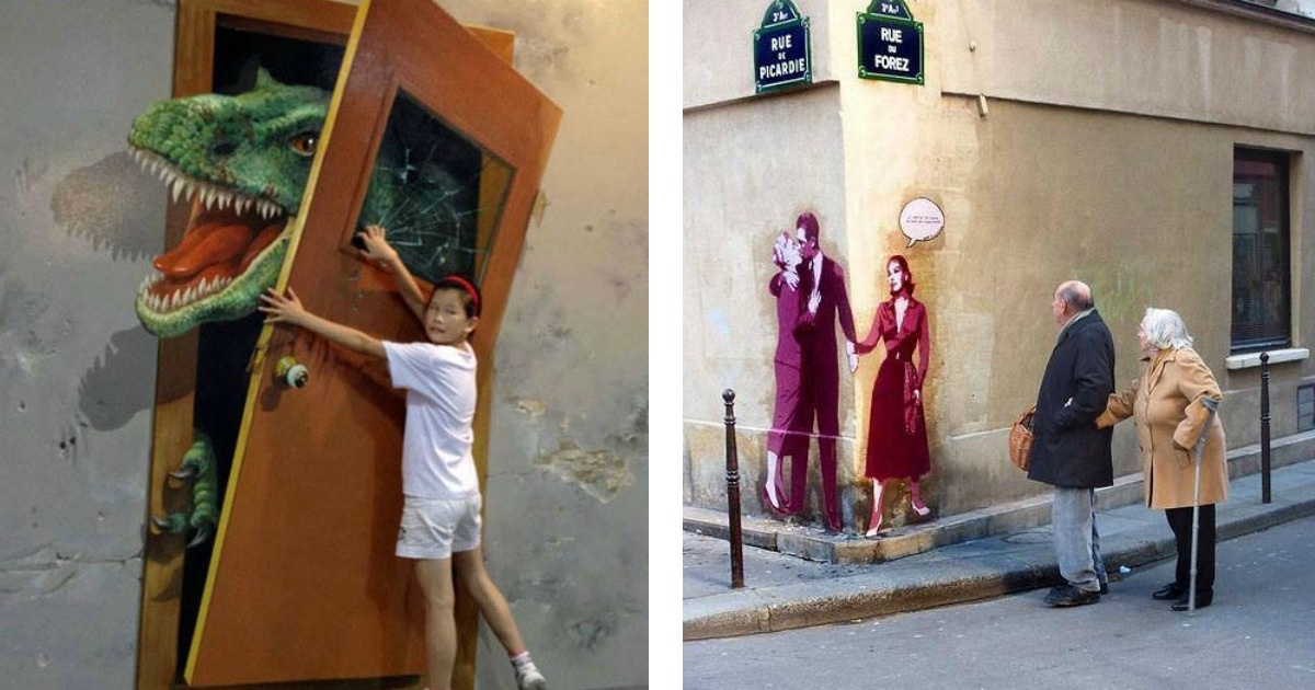 11 muestras del fascinante arte urbano en 3D