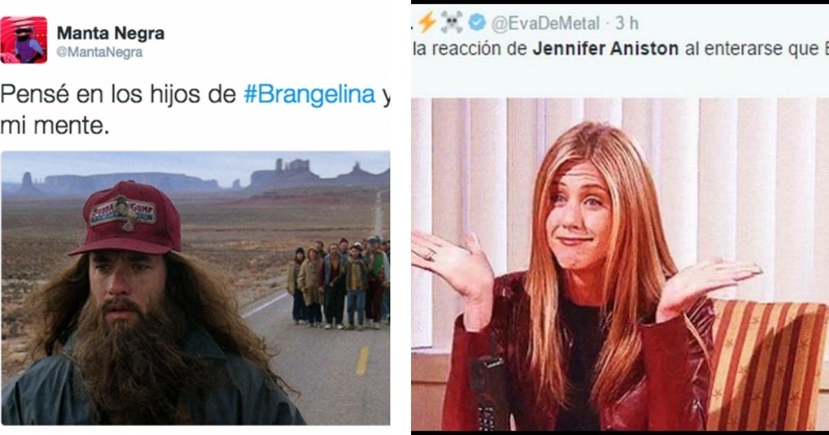 Los mejores memes de la separación de Brad Pitt y Angelina Jolie