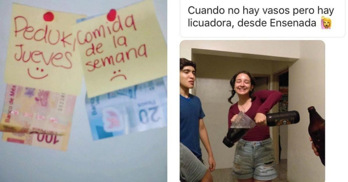 10 Divertidas fotos sobre cómo sobreviven los estudiantes universitarios