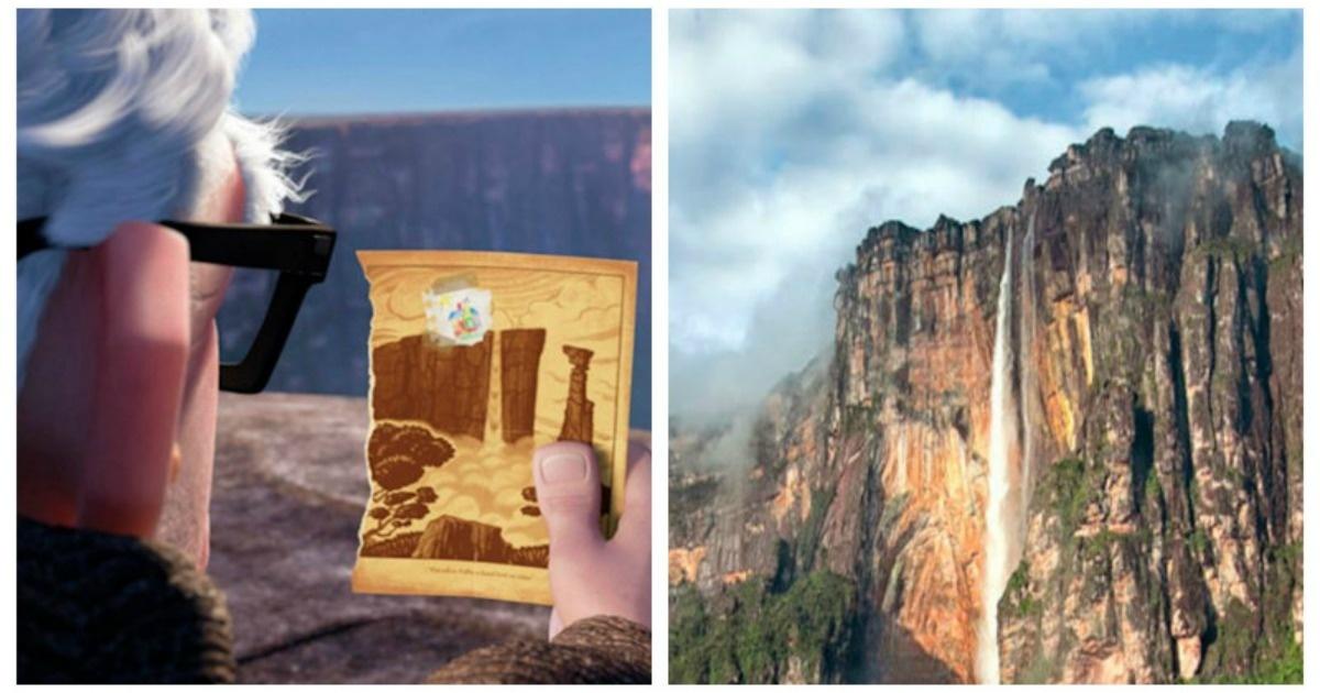 ¡7 Lugares de películas animadas que en realidad existen!