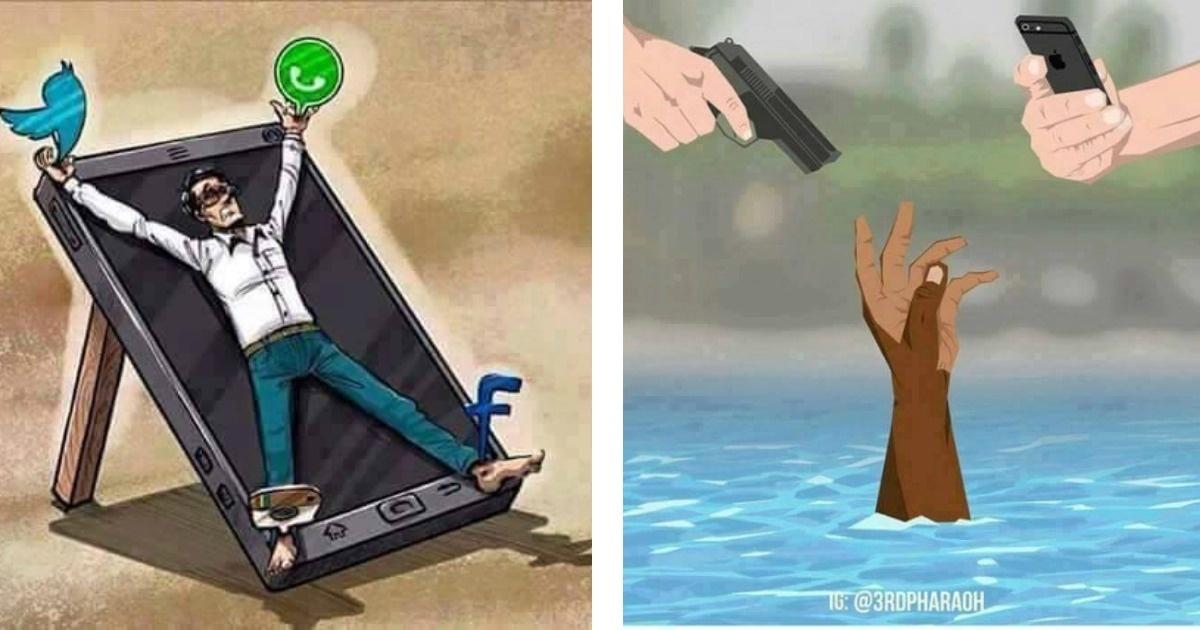 Imágenes bastante crudas que nos dicen lo cruel que es la realidad humana