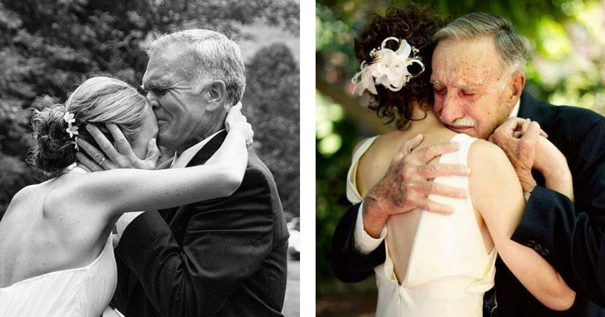 10 bellas imágenes que nos demuestran el sentimiento al entregar una hija