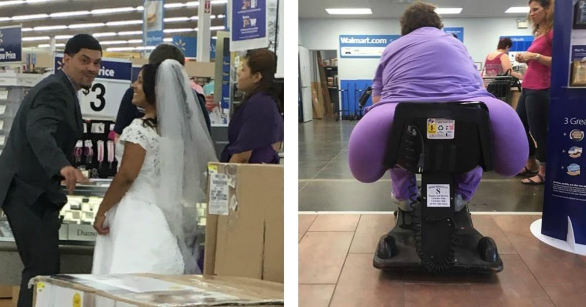 10 Momentos WTF captados por las cámaras de Walmart