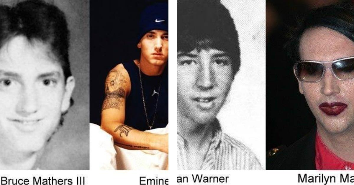Sorpréndete con el aspecto que tenían las celebridades en la escuela. Ver para creer.