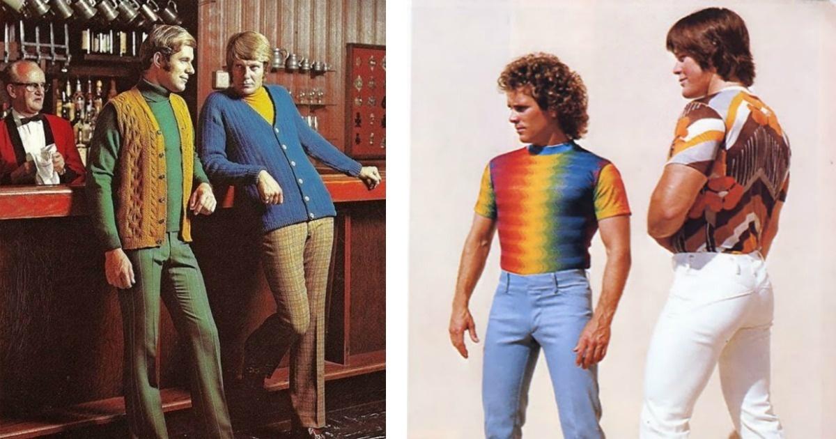 10 Imágenes horribles sobre cómo era la moda masculina en los 70
