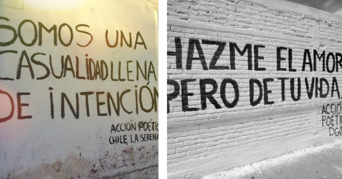 Acción Poética. Un fenómeno mural-literario que te encantará