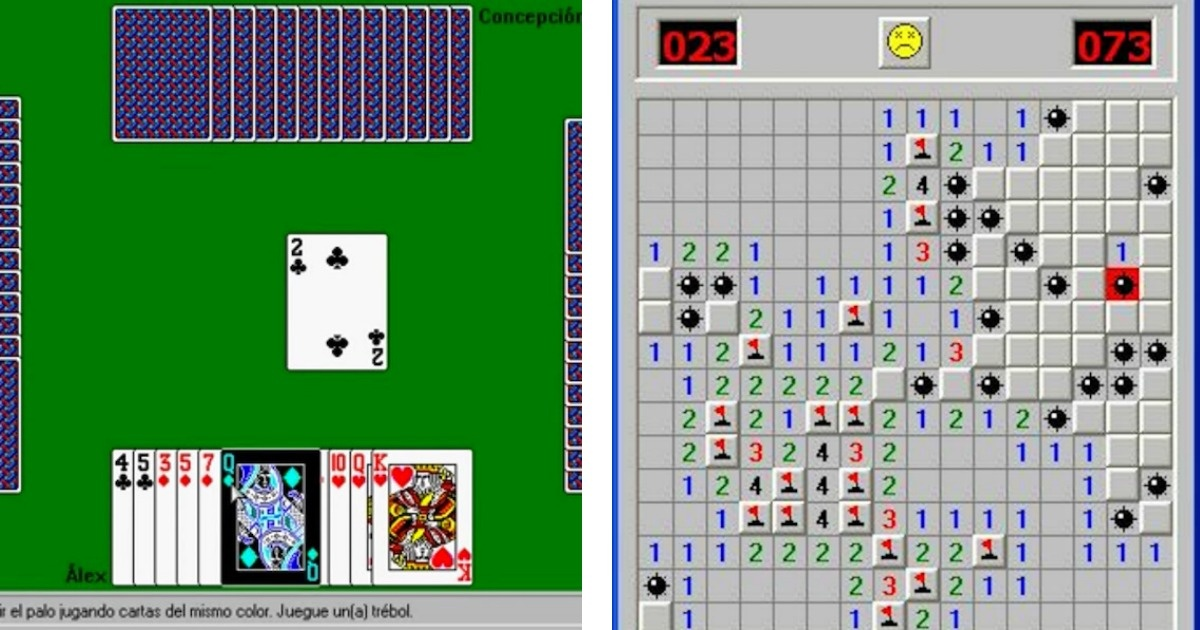 11 Viejas capturas de pantalla que te darán justo en la nostalgia