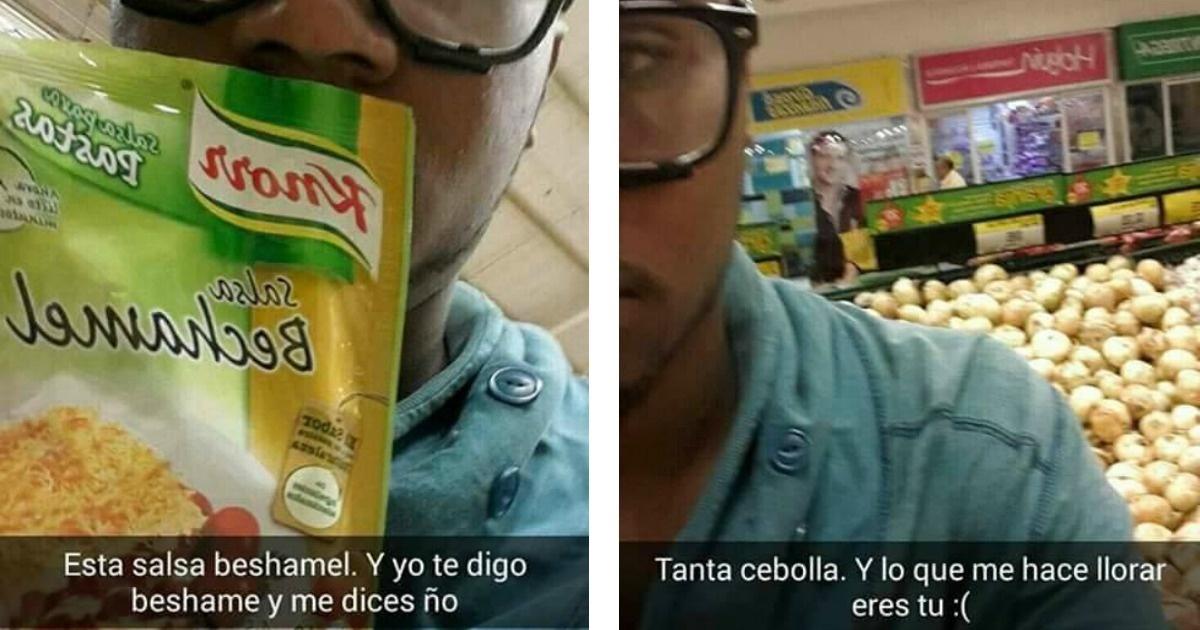 Los graciosos snapchats sobre una víctima más de la friendzone