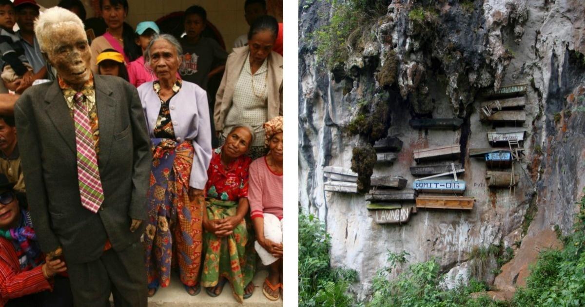 Los 7 rituales funerarios más extraños del planeta