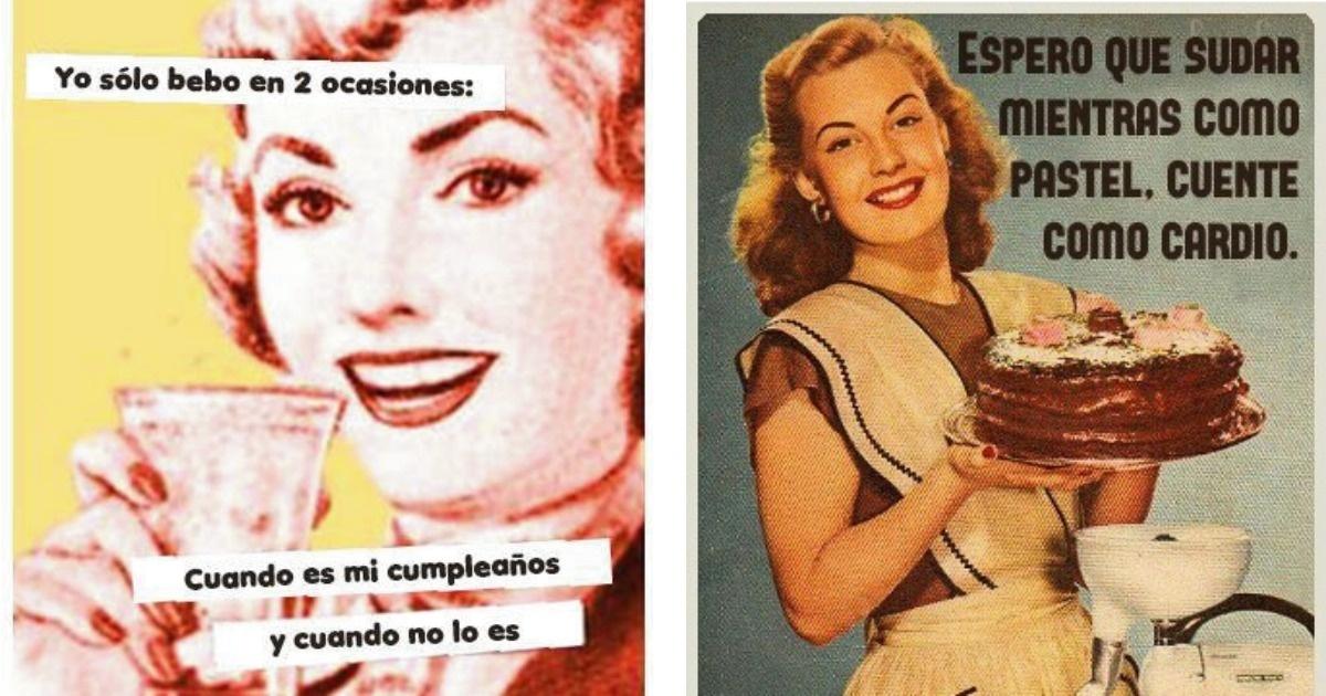 12 Imágenes vintage con mucho humor y sarcasmo
