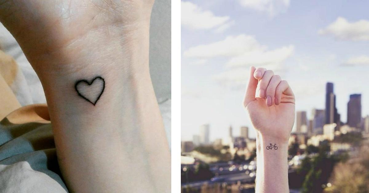 11 Tatuajes minimalistas que te van a enamorar