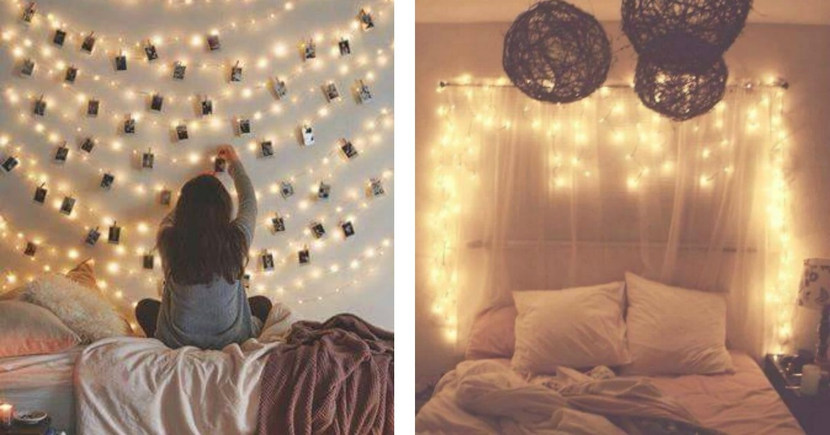 Atr vete a decorar tu cuarto con las luces navide as la for Cosas para decorar tu cuarto