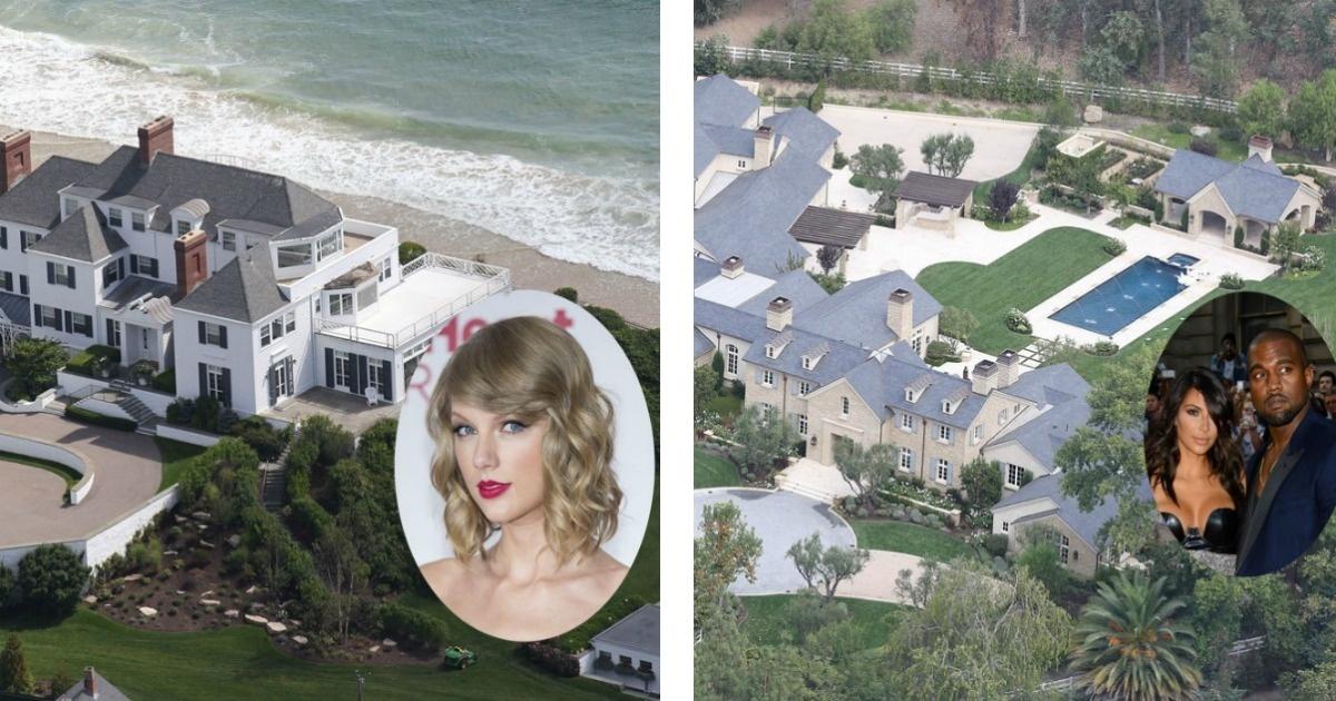 Conoce las mansiones más lujosas de las celebridades