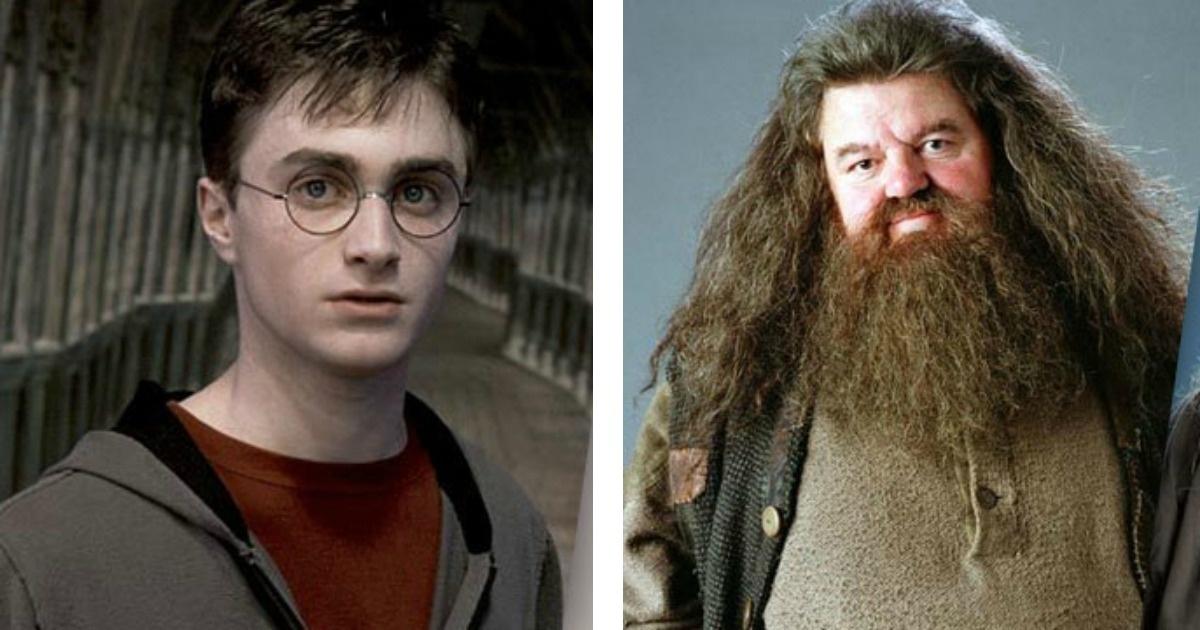 Celebridades que son idénticas a los personajes de Harry Potter